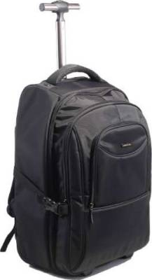 "Kingsons Prime Series 15.6"" Trolley BackPack (Black) 