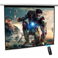 "iView Electrical Projector Screen with Remote Control 215x135cms (100"" Diagonal) 16:10 Format"
