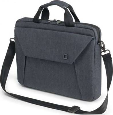 Dicota Slim Case EDGE 12-13.3 Blue Denim Stylish and Slim Notebook Case with Tablet Pocket | D31239