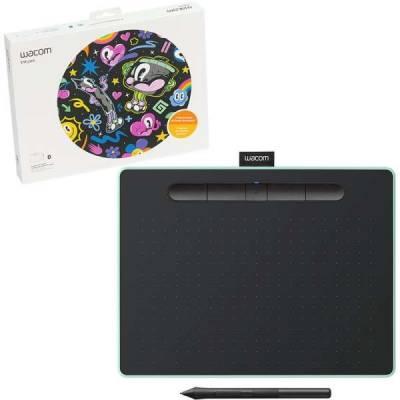 Wacom Intuos M Bluetooth Creative Pen Tablet – (Medium, Pistachio Green) | CTL-6100WLE-N