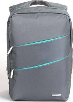 "KingSons Evolution Series 15.6"" Laptop BackPack (Gray) 