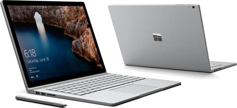 Microsoft Surface Book 2 In 1 13 5 Inch Touch Screen