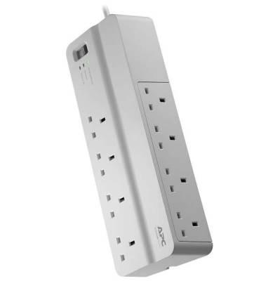 APC PM8-UK Essential SurgeArrest 8 Outlets 230V UK | PM8-UK