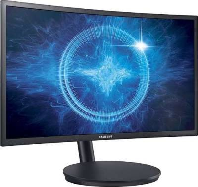 Samsung CFG70 Series 24-Inch 1ms Curved Gaming Monitor | LC24FG70