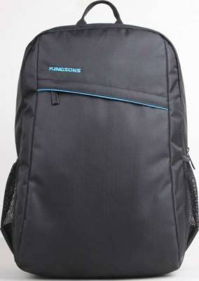 "Kingsons Spartan Series 15.6"" Laptop BackPack (Black) 