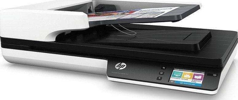 Hp scanjet pro 4500 fn1 network scanner with automatic - Best document scanner for home office ...