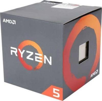 AMD Ryzen 5 1500X CPU for DT (4C/8T, 18MB Cache) 3.5 GHz Base / 3.7 GHz Precision Boost | YD150XBBAEBOX