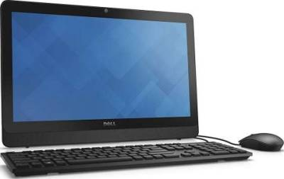 """DELL INSPIRON 20-3064 19.5"""" All-In-One Touchscreen (i3-7100U 4GB RAM 1TB HDD 19.5"""" Touch DVD-ROM Wired Keyboard+Mouse English/Arabic Free-DOS) 