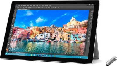"Microsoft Surface Pro 4 Tablet PC (With Pin) Intel Core i7 6th Generation 6650U 2.2GHz, 16GB RAM, 512GB SSD, 12.3"" (2736 x 1824), 5MP Front Camera- 8MP Rear Camera, Bluetooth, Windows 10 