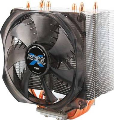 Zalman CNPS10X Optima Shark's Fin Blade CPU Cooler | CNPS10X Optima
