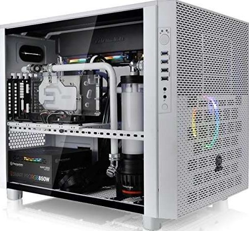 Thermaltake Core X5 Tempered Glass Snow Edition Cube White