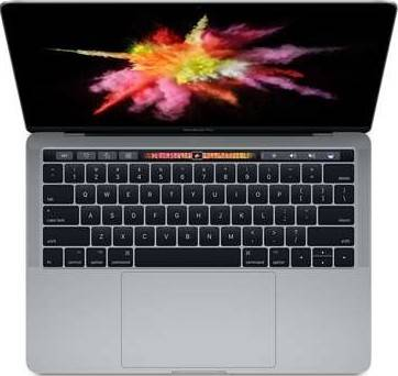 Apple MacBook Pro 13-Inch with Touch Bar and Touch ID ( Intel Core i5 7th Gen 3.1GHz, 8GB, 256GB SSD, Space Gray, English KB with FaceTime) MPXV2LL/A